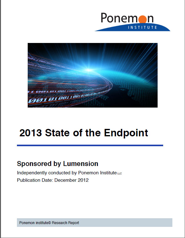 2013 State of the Endpoint