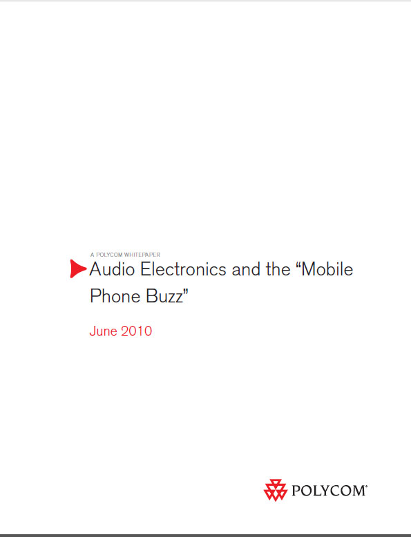 "Audio Electronics and the ""Mobile Phone Buzz"""