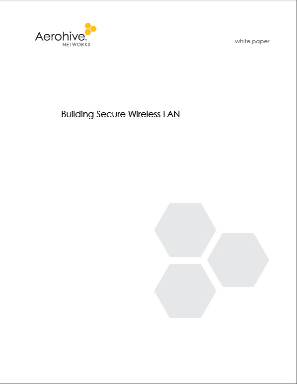 Building Secure Wireless LAN