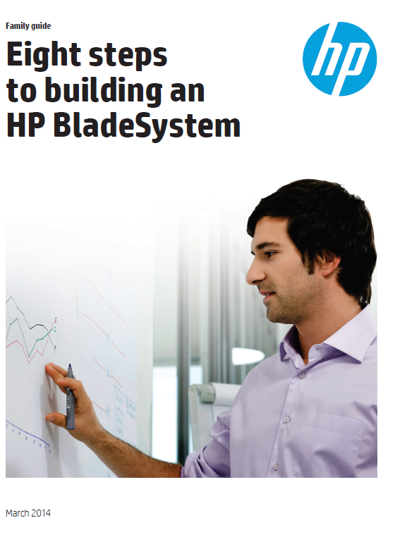 Eight steps to building an HP BladeSystem