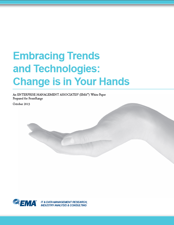 Embracing Trends and Technologies: Change is in Your Hands