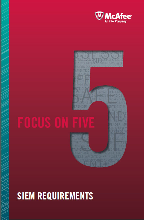 Focus On Five – Siem Requirements
