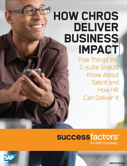 How CHROs deliver business impact