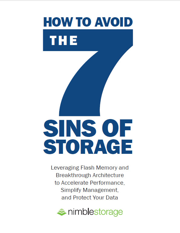 How To Avoid The Seven Sins of Storage