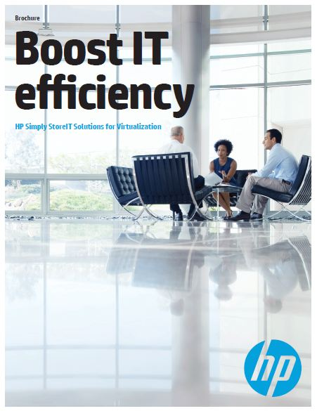 HP Simply StoreIT Solutions for Virtualization Brochure