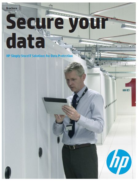 HP Simply StoreIT Solutions for Data Protection Brochure