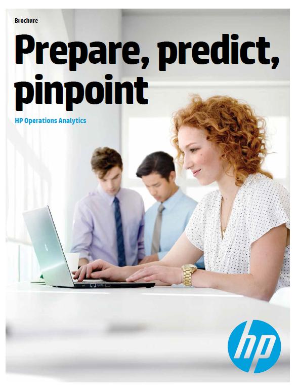 Prepare, predict, pinpoint