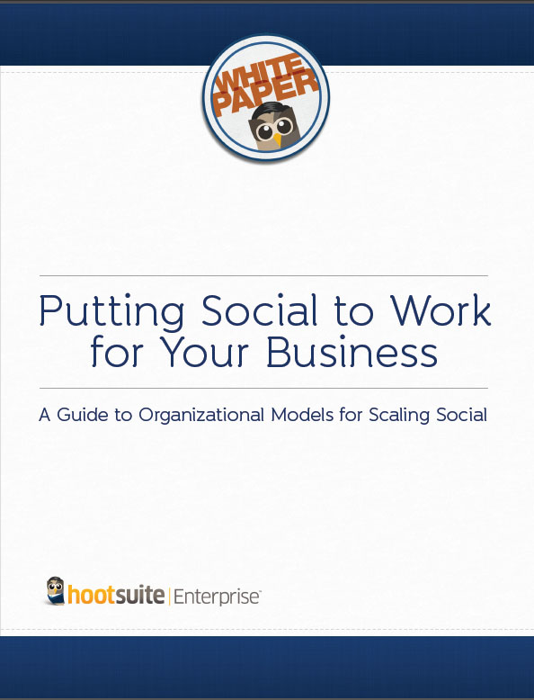 Putting Social to Work for Your Business