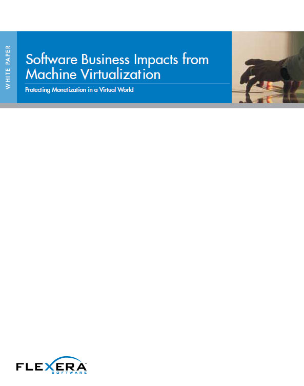 Software Business Impacts from Machine Virtualization Protecting Monetization in a Virtual World