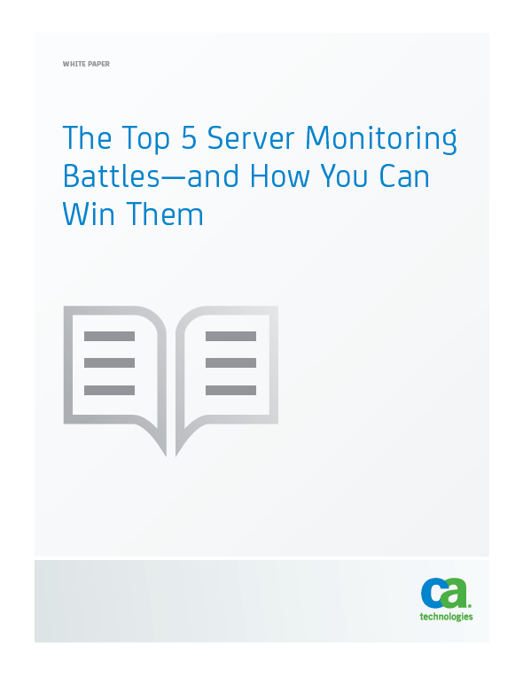 The Top 5 Server Monitoring Battles—and How You Can Win Them