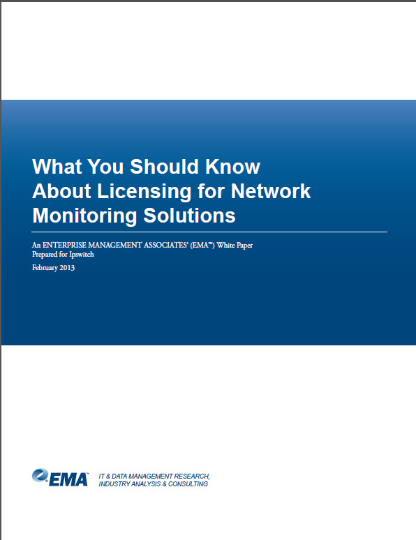 What You Should Know About Licensing for Network Monitoring Solutions