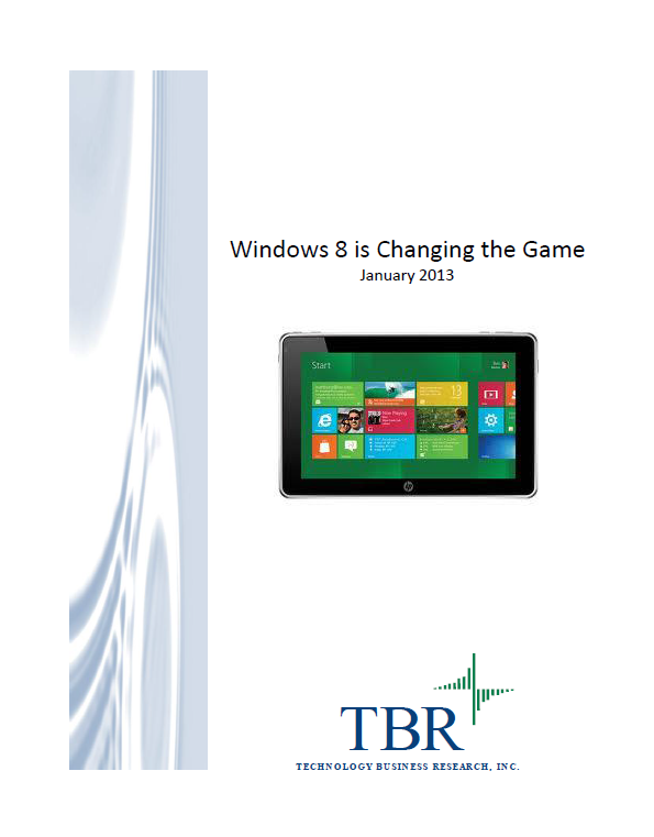 Windows 8 is Changing the Game