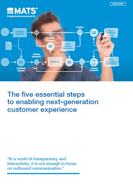 The five essential steps to enabling next-generation customer experience