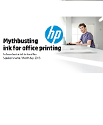 Mythbusting ink for office printing