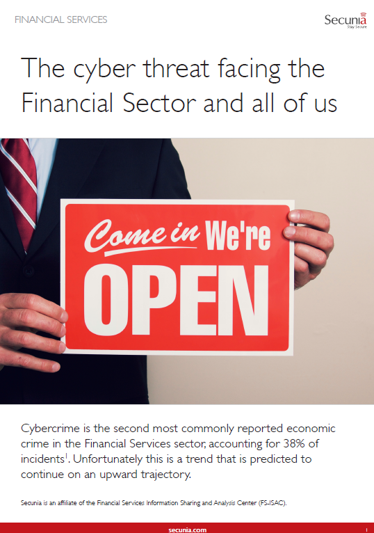 The cyber threat facing the Financial Sector and all of us
