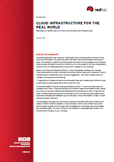 Cloud Infrastructure for the Real World
