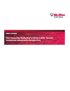 The Security Industry's Dirty Little Secret