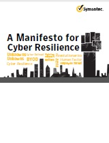 A Manifesto for Cyber Resilience