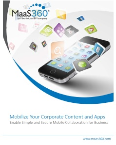 Mobilizing Your Corporate Content and Apps