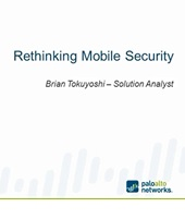 Webcast: Rethinking Mobile Security
