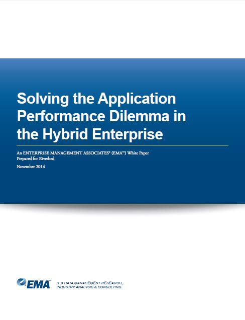 Solving the Application Performance Dilemma in the Hybrid Enterprise