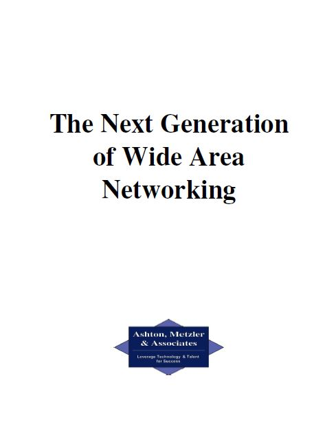 The Next Generation of Wide Area Networking