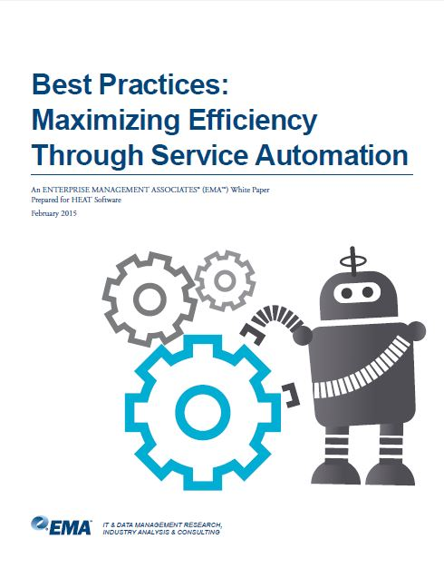 Best Practices: Maximizing Efficiency Through Service Automation