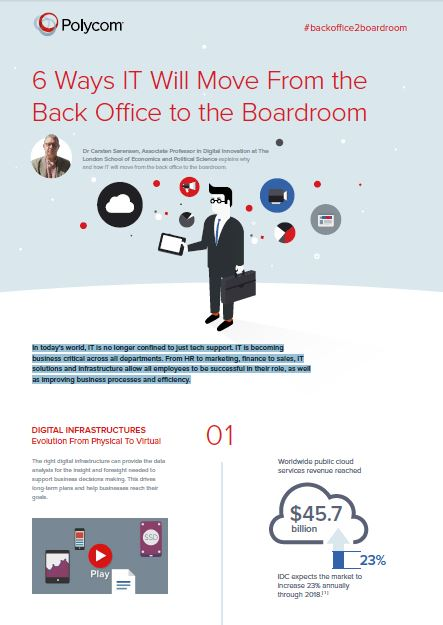 6 Ways IT Will Move From the Back Office to the Boardroom
