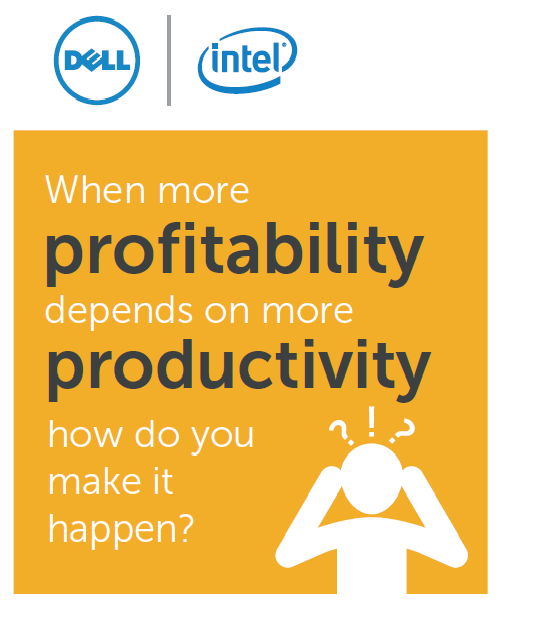 Infographic : When More Profitability Depends on More Productivity