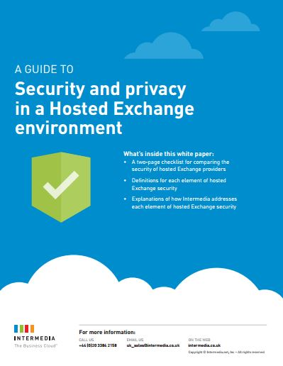 Security and privacy in a Hosted Exchange environment
