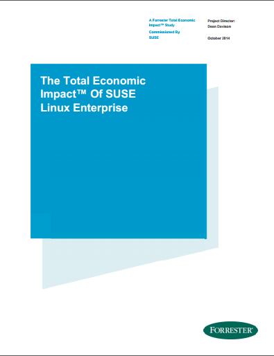 The Total Economic Impact™ Of SUSE Linux Enterprise