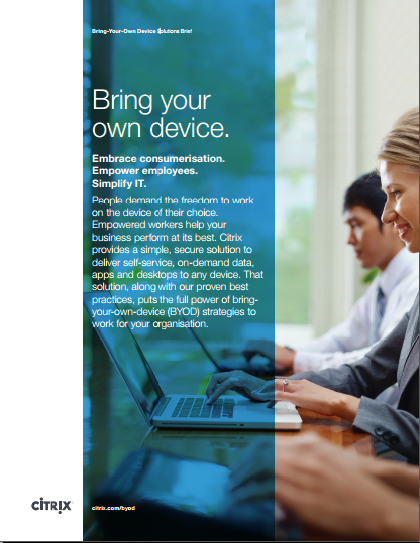 Bring-Your-Own Device Solutions Brief