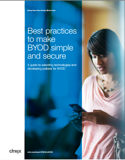 Best Practices to make BYOD simple and secure