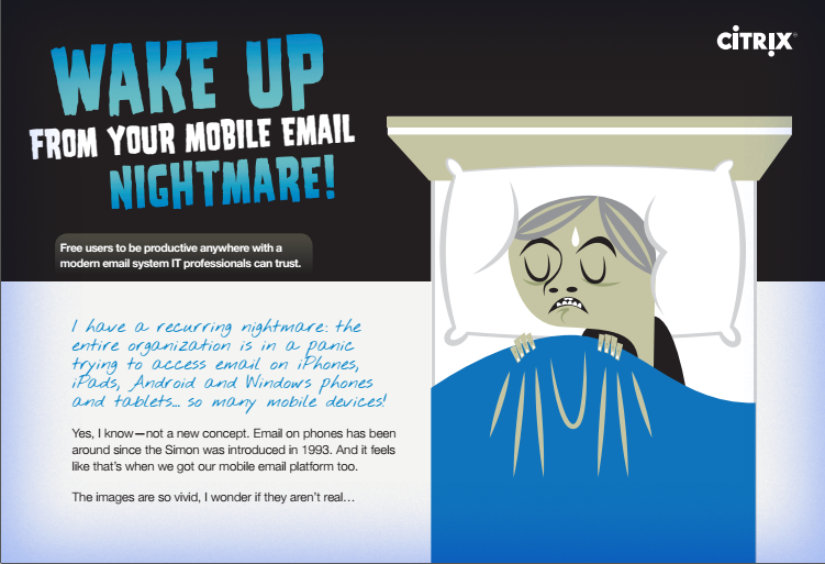 Wake up from your mobile email nightmare !