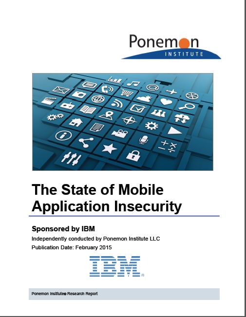 The State of Mobile Application Insecurity