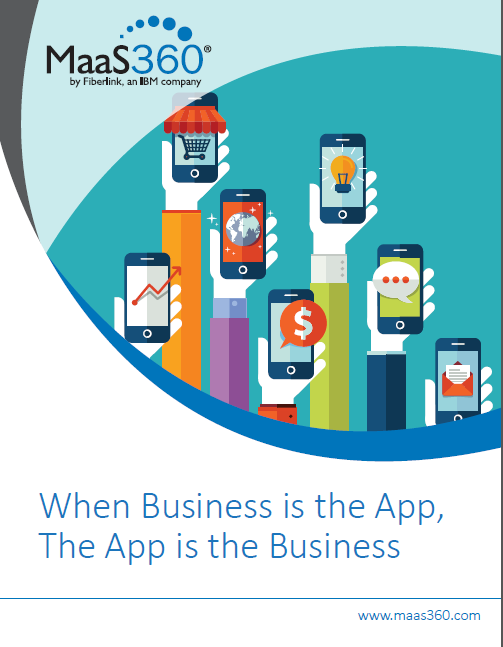 When Business is the App, The App is the Business