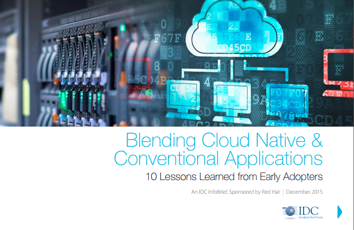 Blending Cloud Native &  Conventional Applications
