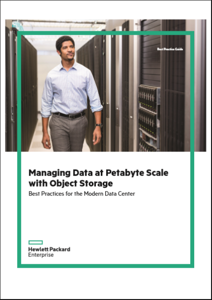 Managing Data at Petabyte Scale with Object Storage