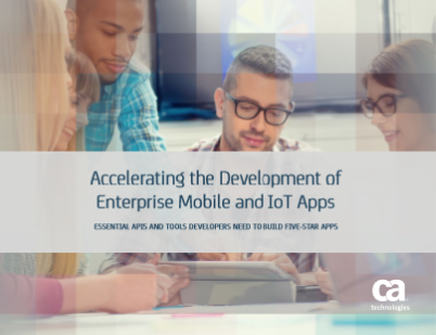 Accelerating the Development of Enterprise Mobile and IoT Apps