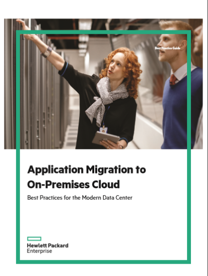 Application Migration to On-Premises Cloud