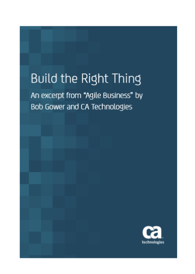 Build the Right Thing