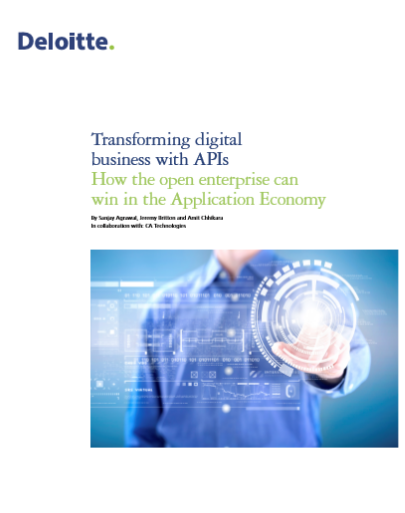 Transforming Digital Business with APIs