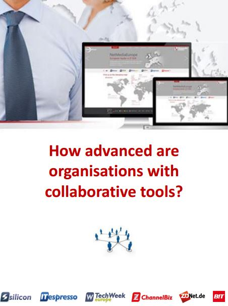 How advanced are organisations with collaborative tools?