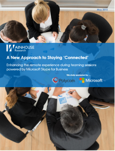 A New Approach to Staying 'Connected'