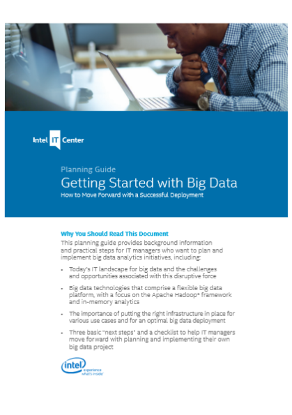 Planning Guide – Getting Started with Big Data