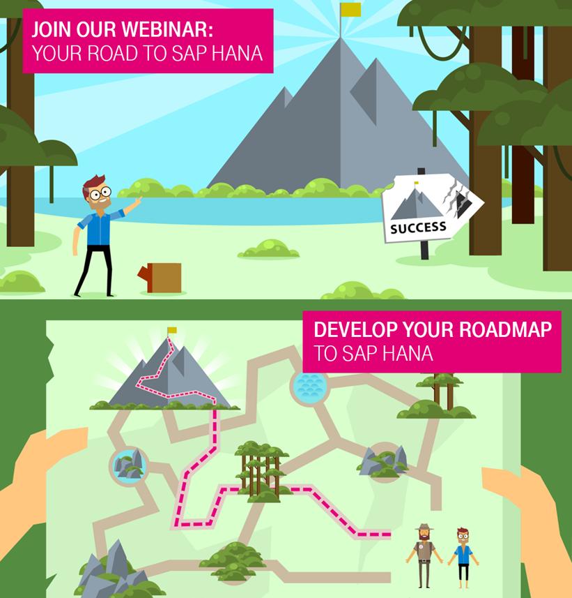 T-Systems: Free WEBINAR – THE ROAD TO SAP HANA