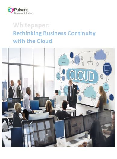 Rethinking Business Continuity with the Cloud