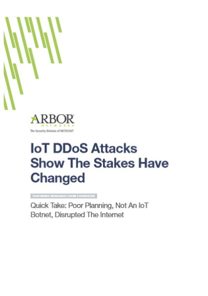 IoT DDos attacks show the stakes have changed