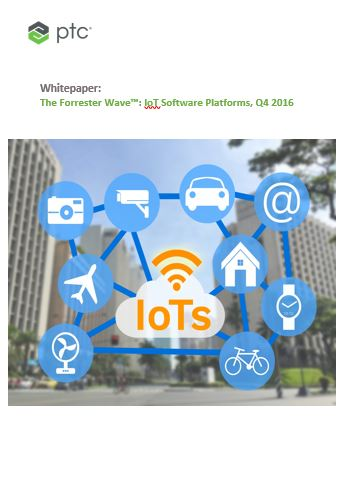 The Forrester Wave™: IoT Software Platforms, Q4 2016