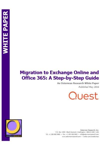 Migration to Exchange Online and Office 365: A Step-by-Step Guide